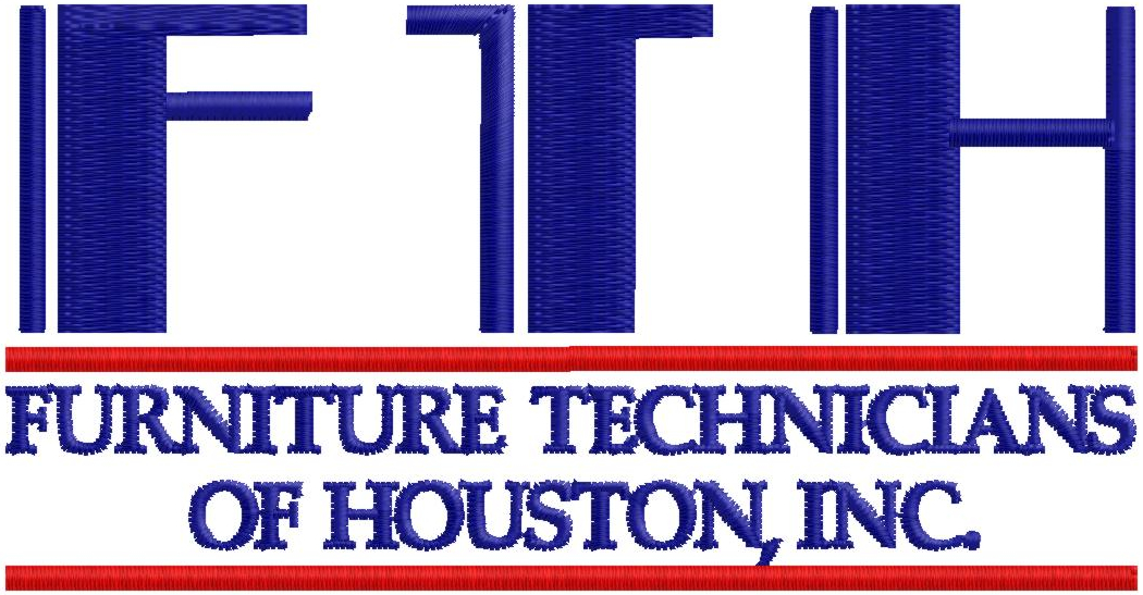 Furniture Technicians Of Houston, Inc. Logo in blue and red