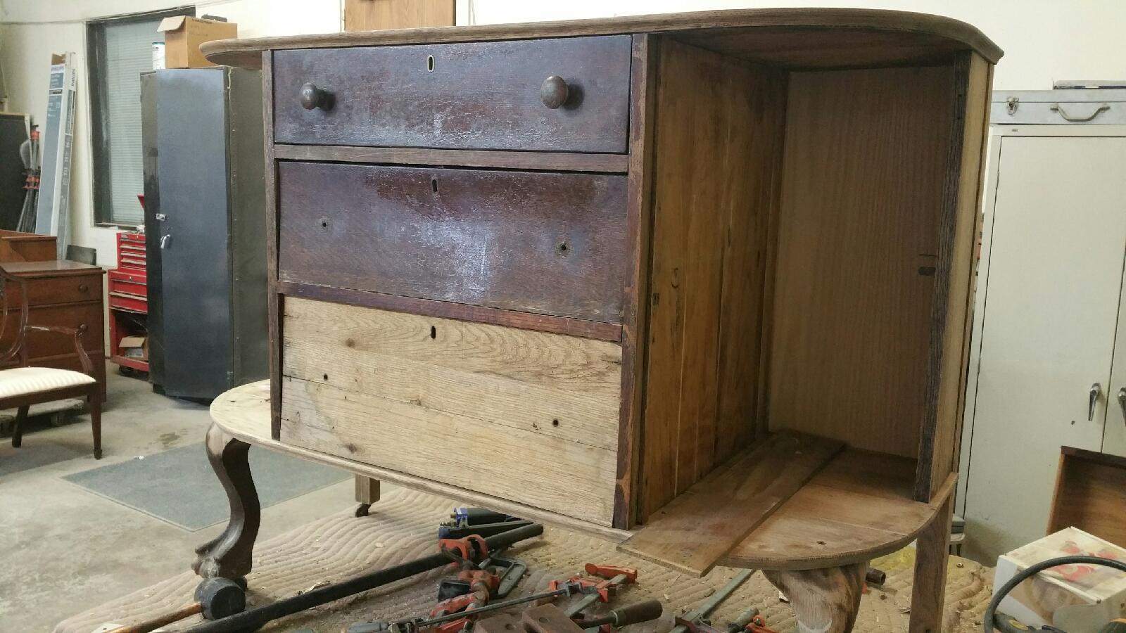 antique cabinet 08-22-16